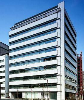 Building with the Headquarters of Teva Pharmaceuticals KK in Tokyo