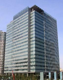 Wyeth Japan headoffice building in Tokyo